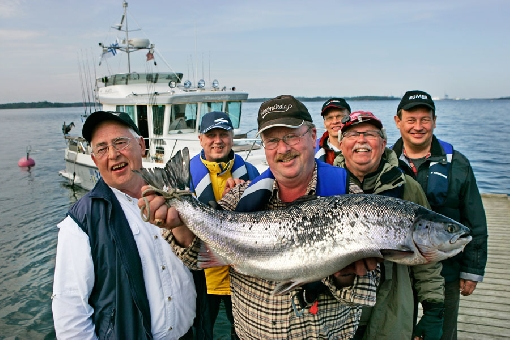 On a guided fishing trip, the catch may be spectacular.