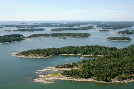 A view over the Inkoo Archipelago.