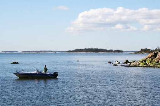 The Helsinki Archipelago offers beauty and fishing grounds.