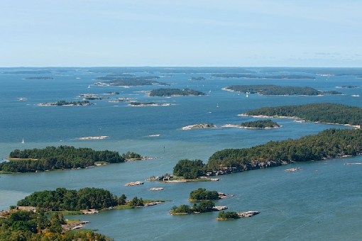 A view over the Nauvo Archipelago.