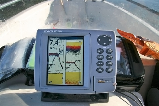 Echo sounder is an outstanding tool for vertical jigging.