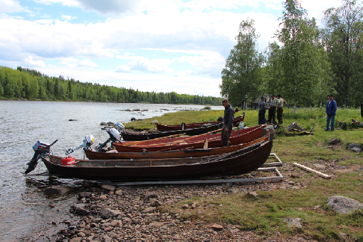 Fish counting began on River Tornionjoki and River Simojoki