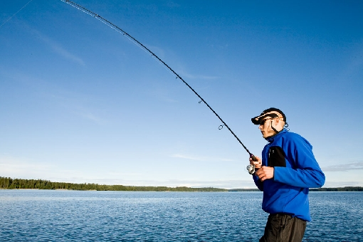 Fishing with good tackle is easy and enjoyable.
