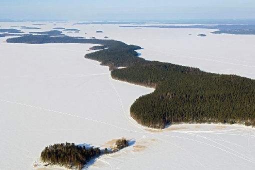 Kelvenne Island in Lake Päijänne National Park.