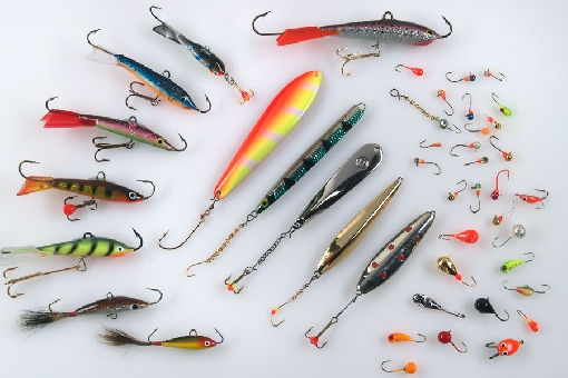 Ice fishing national fishing for Ice fishing trout lures